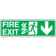 Safe Safety Sign - Fire Door Down 087
